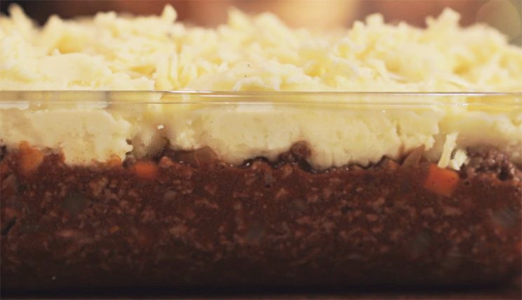 Easy Cheesy Cottage Pie - pre horno