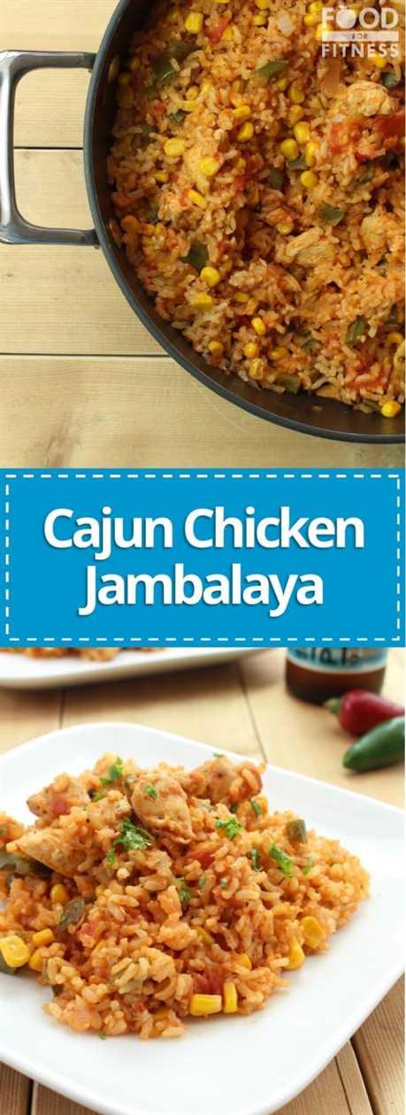 Jambalaya de pollo cajún