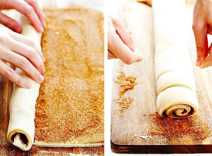 La mejor receta de rollo de canela con glaseado de queso crema