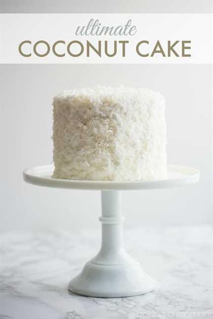 El mejor pastel de coco! ¡Tanto sabor a coco en cada componente, y es completamente libre de lácteos!