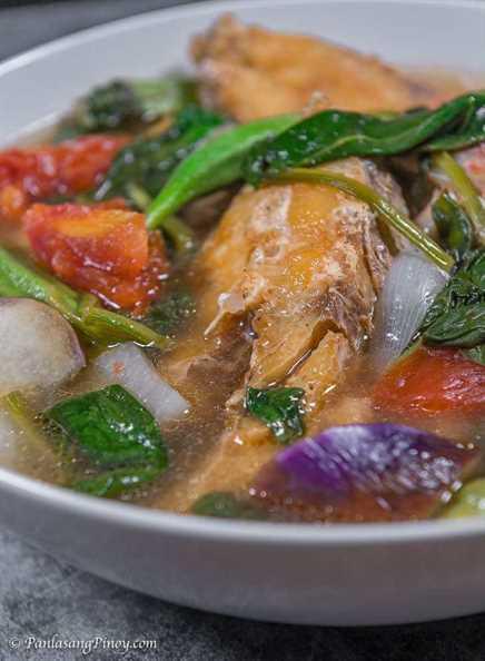 receta de sinigang de pescado