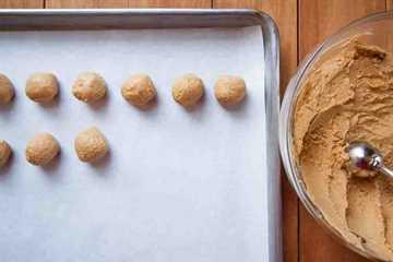 Buckeyes de mantequilla de maní
