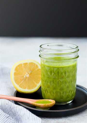 Bright and FRAGRANT, ce bassin et la vinaigrette au citron sont une vinaigrette parfaite en bonne santé. Il se conforme à l'ensemble du nombre de 30 et c'est un excellent ajout à une salade verte ou à une salade de pâtes. C'est aussi un grand spray sur le poulet grillé!