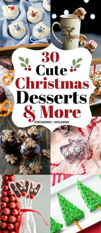 ¡30 lindos postres navideños y más te divertirán durante las vacaciones! #treats #holidays #desserts #chocolate #crafts
