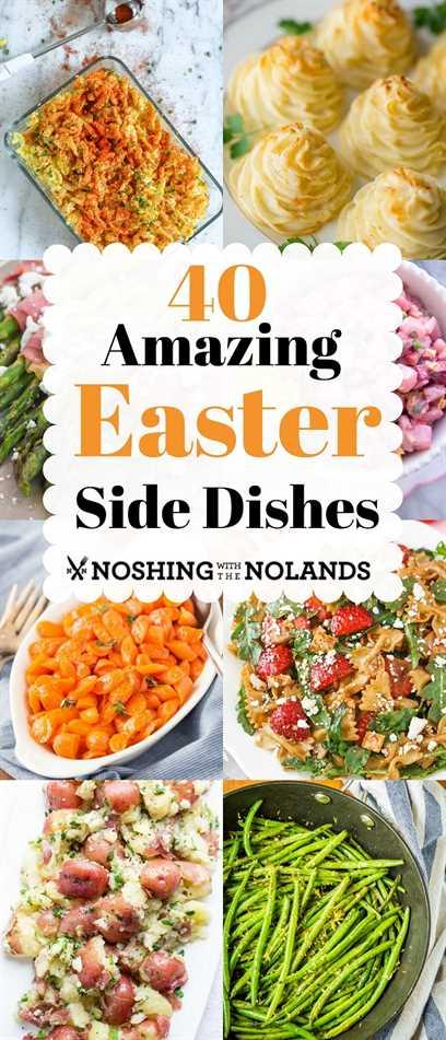 ¡40 increíbles guarniciones de Pascua para simplificar tu cena de Pascua! #Eastersidedishes, # Pascua, # sidedish