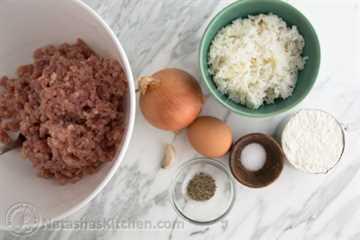 Albóndigas de pollo en salsa de crema-12