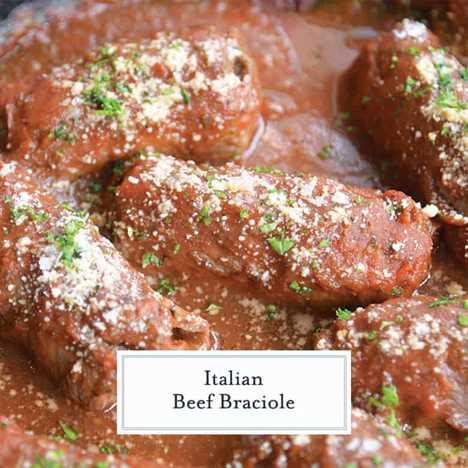 Cerca de carne italiana braciole