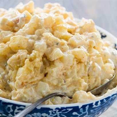 Crock Pot Creamy Hash Papas Marrones