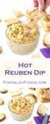 Receta Hot Dip de Rubén