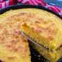 El mejor pan de maíz de sartén de hierro fundido