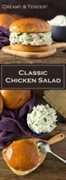 Receta clásica de ensalada de pollo: cremosa y tierna