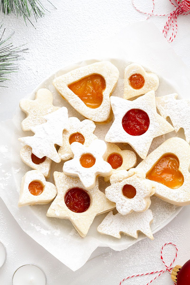 Raspberry Sugar Cookies - These treats are sure to sweeten your Christmas and impress your friends on your next cookie swap.