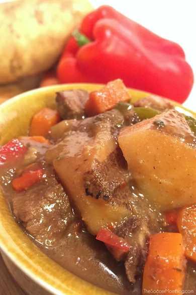 La mejor comida reconfortante: ¡literalmente, cualquiera que pruebe esta receta de carne guisada se enamora!