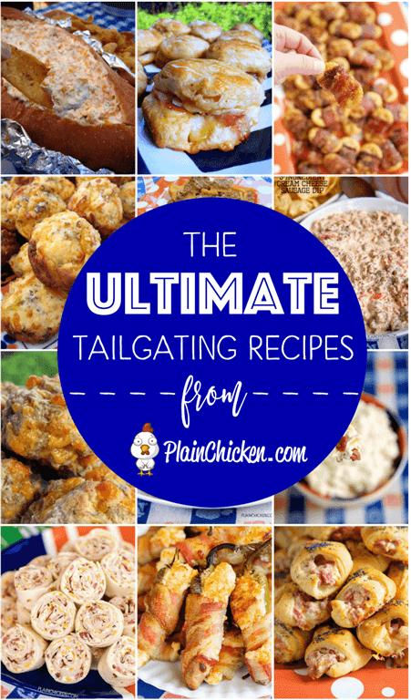 Las Recetas ULTIMATE Tailgating - 25 de las mejores recetas de tailgating en internet. Algo para todos. ¡Estas son recetas probadas y verdaderas que harán que su portón trasero sea un touchdown!