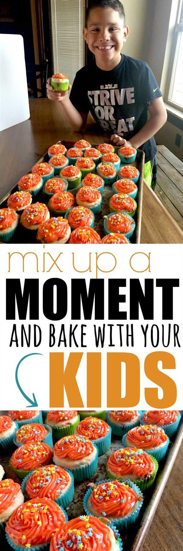 mezclar un momento con el pastel de pasteles funbury debury