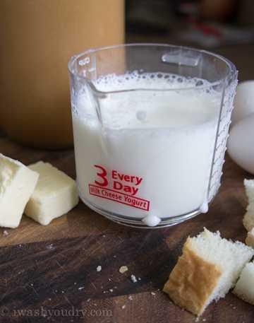 ¡La leche hace un buen cuerpo!