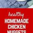 Estos nuggets de pollo saludables con parmesano son fáciles de hacer (¡horneados, no fritos!) Y los niños y los adultos los adorarán. ¡Dile adiós al drive-thru! ¡Obtén la receta fácil en RachelCooks.com!