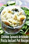 Prueba esta receta de olla de pollo y alcachofa instantánea. ¡Te encantará lo rápido y fácil que es esta comida de marihuana! Cena rápido en la mesa.