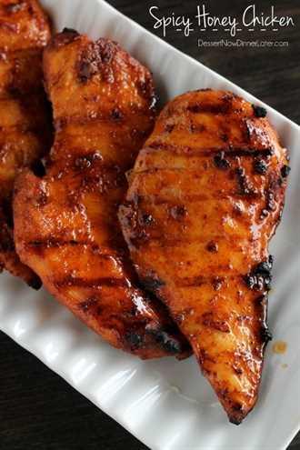 Pollo Picante con Miel