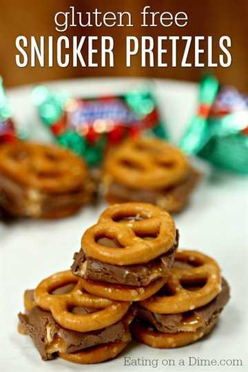 Prueba esta deliciosa receta de pretzels cubiertos de chocolate sin gluten. Te encantarán estas delicias de chocolate. ¡La receta de pretzels de chocolate Snicker sin gluten es tan buena!