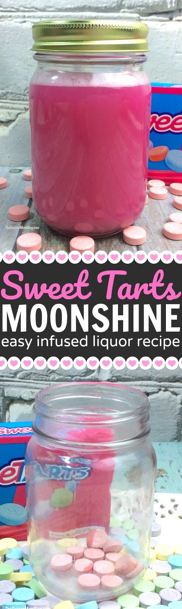 ¡Tan divertido de hacer como de beber! ¡Agítelo con esta receta de tarta de luna dulce! Un tutorial fácil de alcohol infundido casero.
