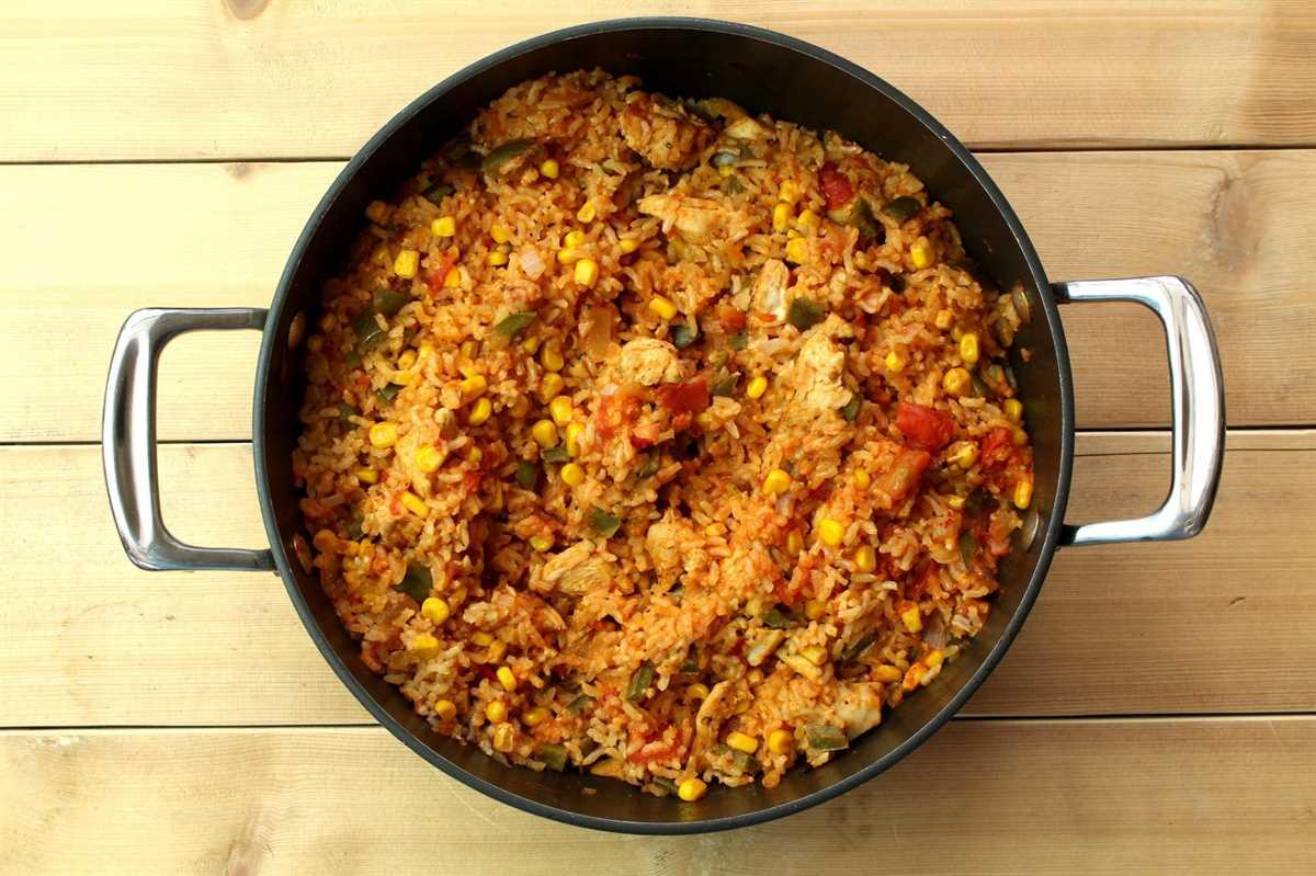 Esta es una receta deliciosa para el jambalaya de pollo cajún