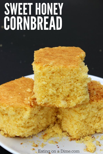 ¿Buscas recetas de cena de pan de maíz? Prueba esta deliciosa y dulce receta de pan de maíz y miel que a todos les encantará. Es la mejor receta casera de pan de maíz.