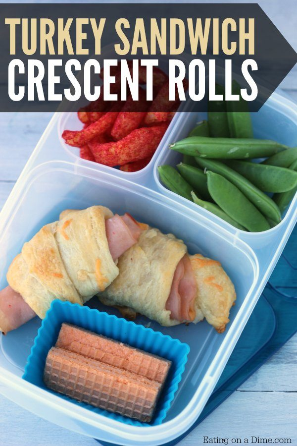 Try this Turkey Crescent Roll Sandwich recipe next time for lunch. Kids love it. Or make this Turkey Crescent Roll Sandwich recipe for a quick snack