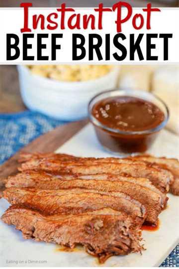 La receta Instant Pot Brisket cambiará la forma en que cocinas la pechuga. La olla a presión hace que sea rápido y fácil, mientras que la carne es tan tierna con toneladas de sabor.