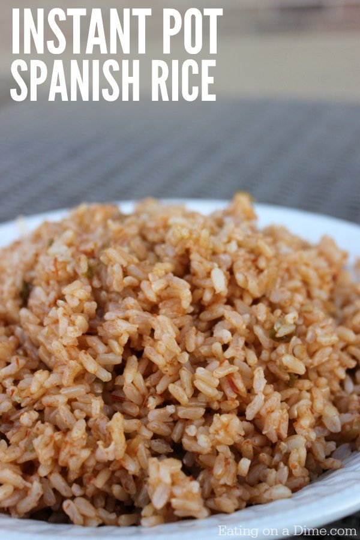 Prueba esta receta de olla a presión de arroz español. Este es el mejor arroz español con arroz integral que harás. ¡Prueba esta receta instantánea fácil hoy!
