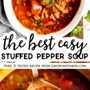 Pin de imagen de sopa de pimiento relleno