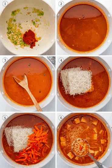 Fotos para mostrar cómo hacer esta receta