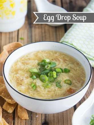 Receta clásica de sopa de huevo