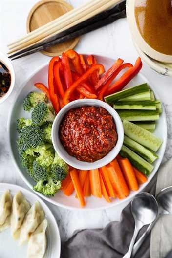 Ssamjang (salsa de inmersión coreana)