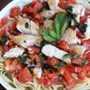 Tomate Albahaca Pollo Pasta