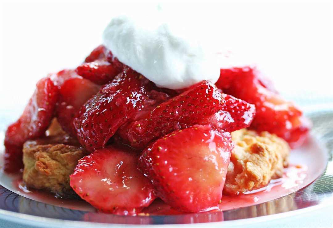 Receta fácil de tarta de fresa