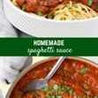Rica en tomates y hierbas, esta clásica receta italiana de salsa de espagueti casera puede convertirse en una tradición familiar en su hogar. Una olla de salsa de espagueti a fuego lento en la estufa hará que todos vengan a la cocina a ver qué se está cocinando.