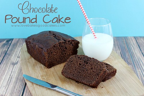 Bizcocho de chocolate #chocolate #poundcake #dessert