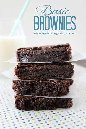 Brownies Básicos 3