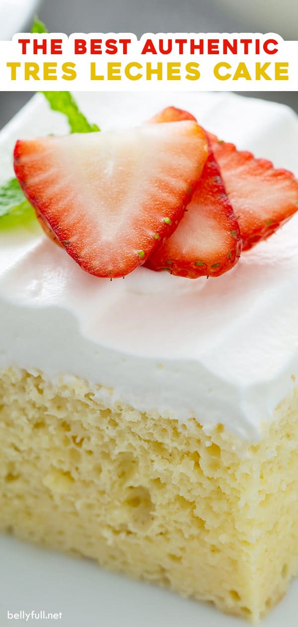 long pin for homemade tres leches cake
