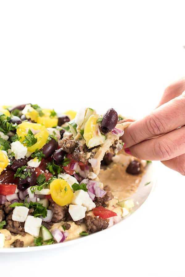 Ricetta Hummus Greco.Dip Di Strato Di Hummus Greco Ricetta Semplice E Salutare