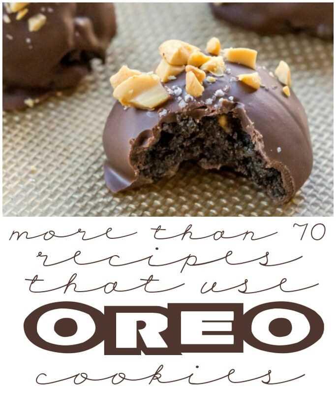 ¡Más de 70 recetas que usan galletas Oreo!