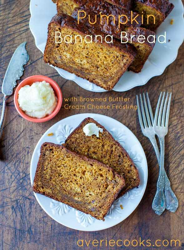 Receta de pan de calabaza y plátano