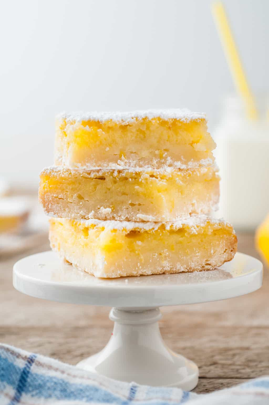 Deliciosas barras de limão