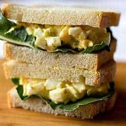 Salada de ovo clássica