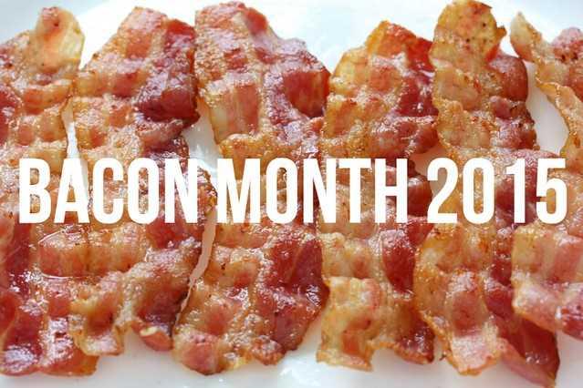 Bacon mes y un sorteo! ¡El 31 de agosto es el Día Internacional del Tocino y varios bloggers se han reunido para ofrecerte nuevas recetas increíbles de tocino durante todo el mes!