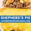 collage de pastel de pastores