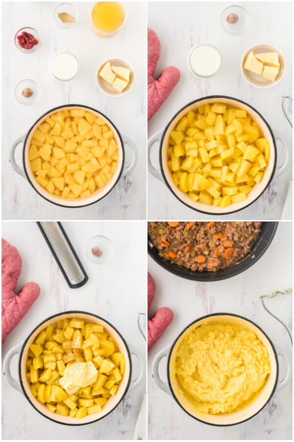 pasos para preparar las patatas