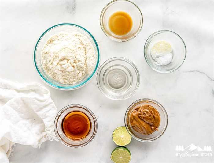 Ingredientes para las bolas energéticas Keto Lime