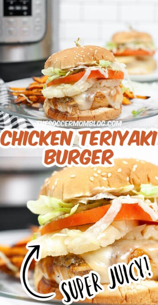 Dulce y salado, ¡esta hamburguesa de pollo teriyaki es la mejor manera de conseguir el famoso plato de Red Robin en casa!